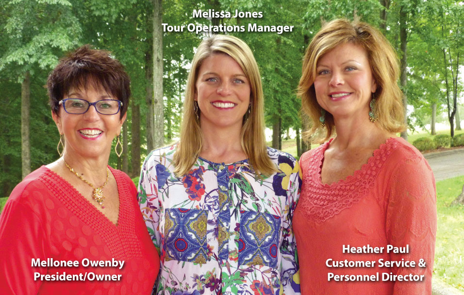 Christian Tours Family - Mellonee Owenby, Melissa Jones & Heather Paul